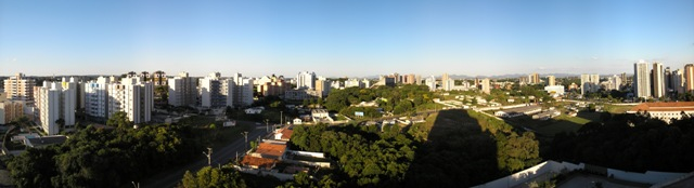 Panoramic View of Brazil
