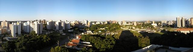 Panoramic View of Brazil