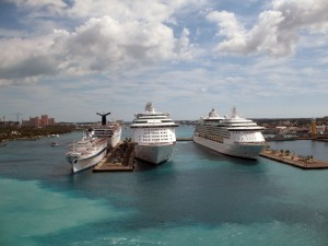 Booking cruises through RCI timeshare exchange