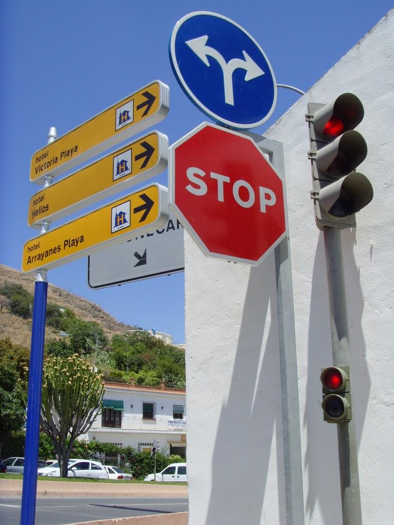 Spain Road Signs