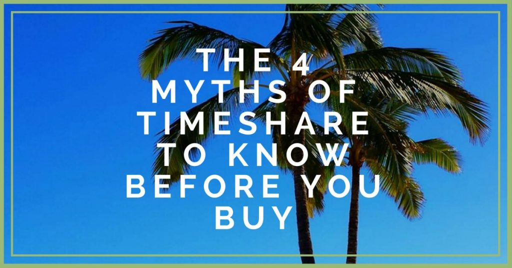 Learn about the most common myths in the timeshare industry
